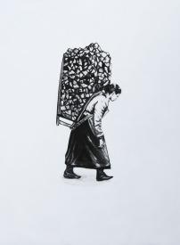 mujer maderos